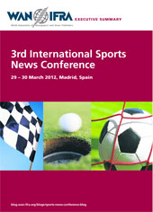 3rd International Sports News Conference - Executive Summary