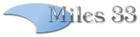 Miles 33 logo