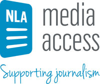 NLA media access logo
